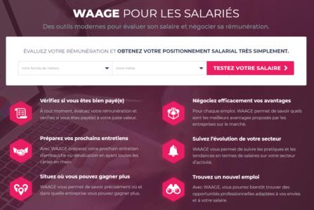 waage pour les salariés