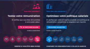 WAAGE.FR : le nouveau portail dédié aux salaires