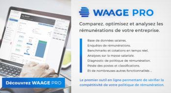 Portail de gestion des rémunérations WAAGE PRO : nouvelles fonctions repères disponibles